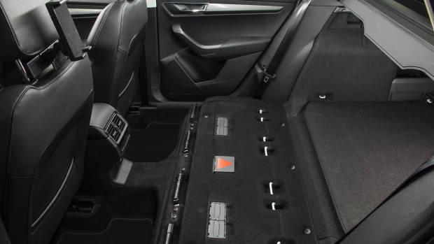 2018 Skoda Karoq rear seat removed