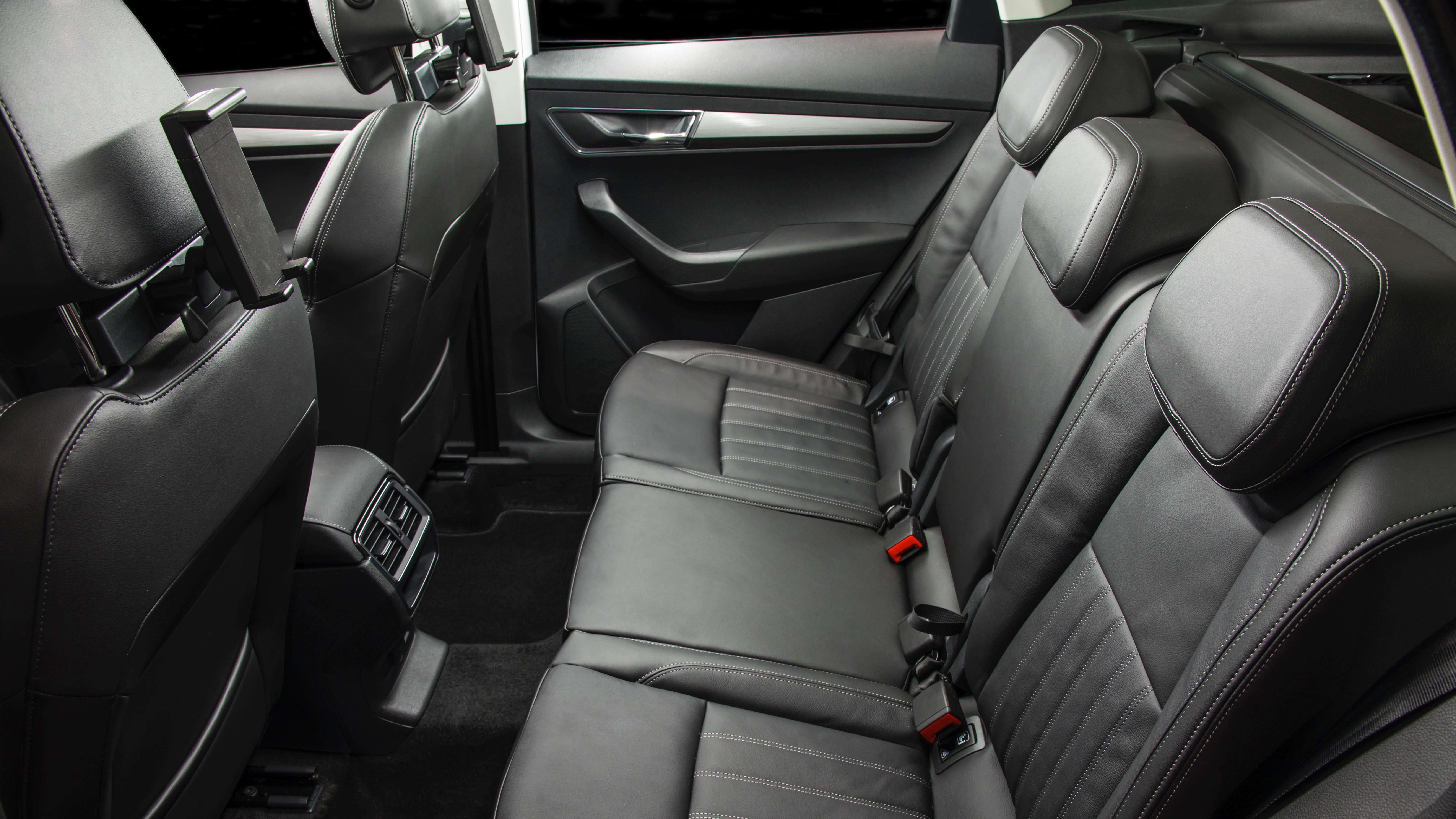 2018 Skoda Karoq rear seat upright
