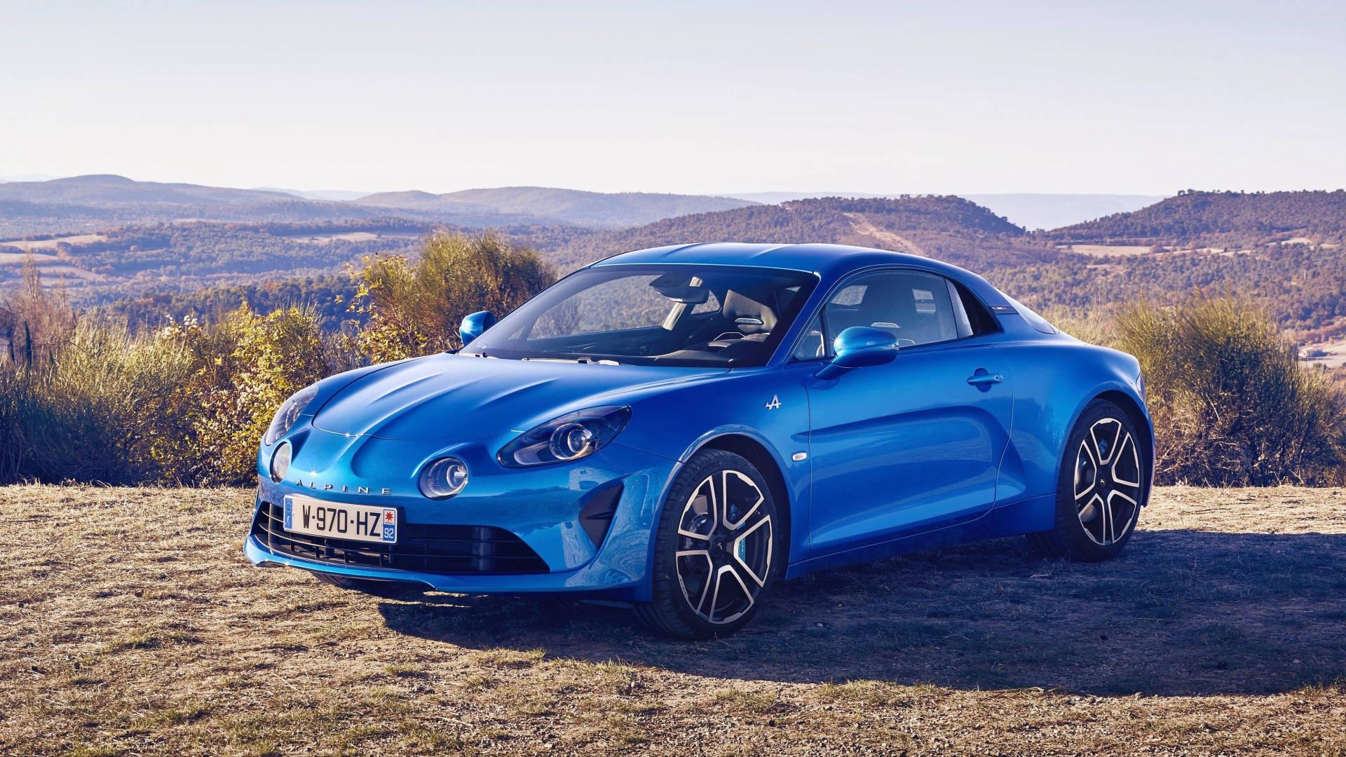 2019 Alpine A110 blue exterior