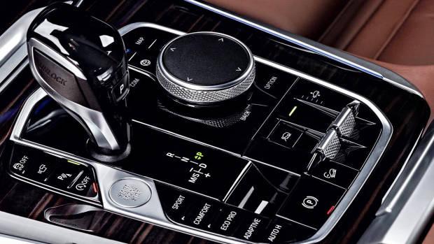 2019 BMW X5 M Sport buttons