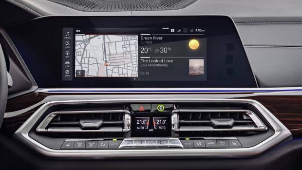 2019 BMW X5 M Sport infotainment