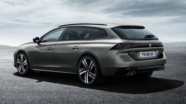 2019 Peugeot 508 Touring rear 3/4