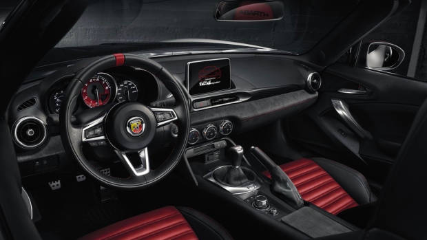Abarth 124 Spider Monza Edition cabin