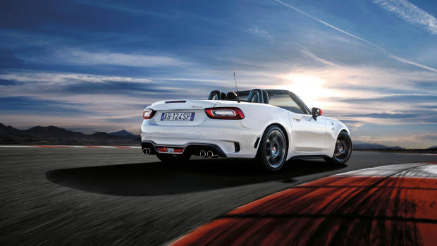 Abarth 124 Spider Monza Edition rear