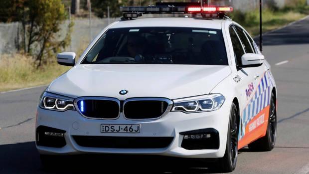 BMW 530d NSW Police