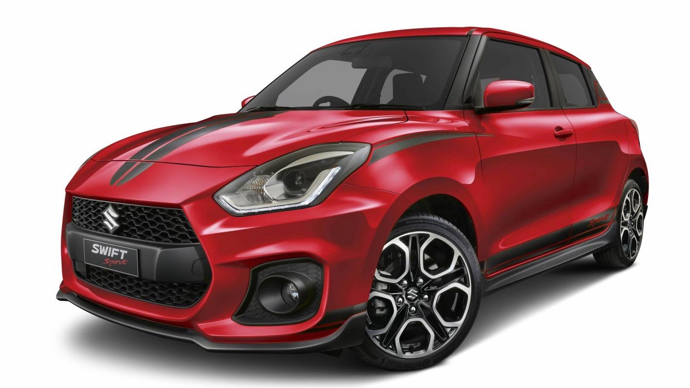 Suzuki Swift Sport Red Devil front 3/4