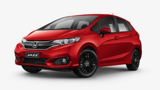 2018 Honda Jazz +Sport red front 3/4