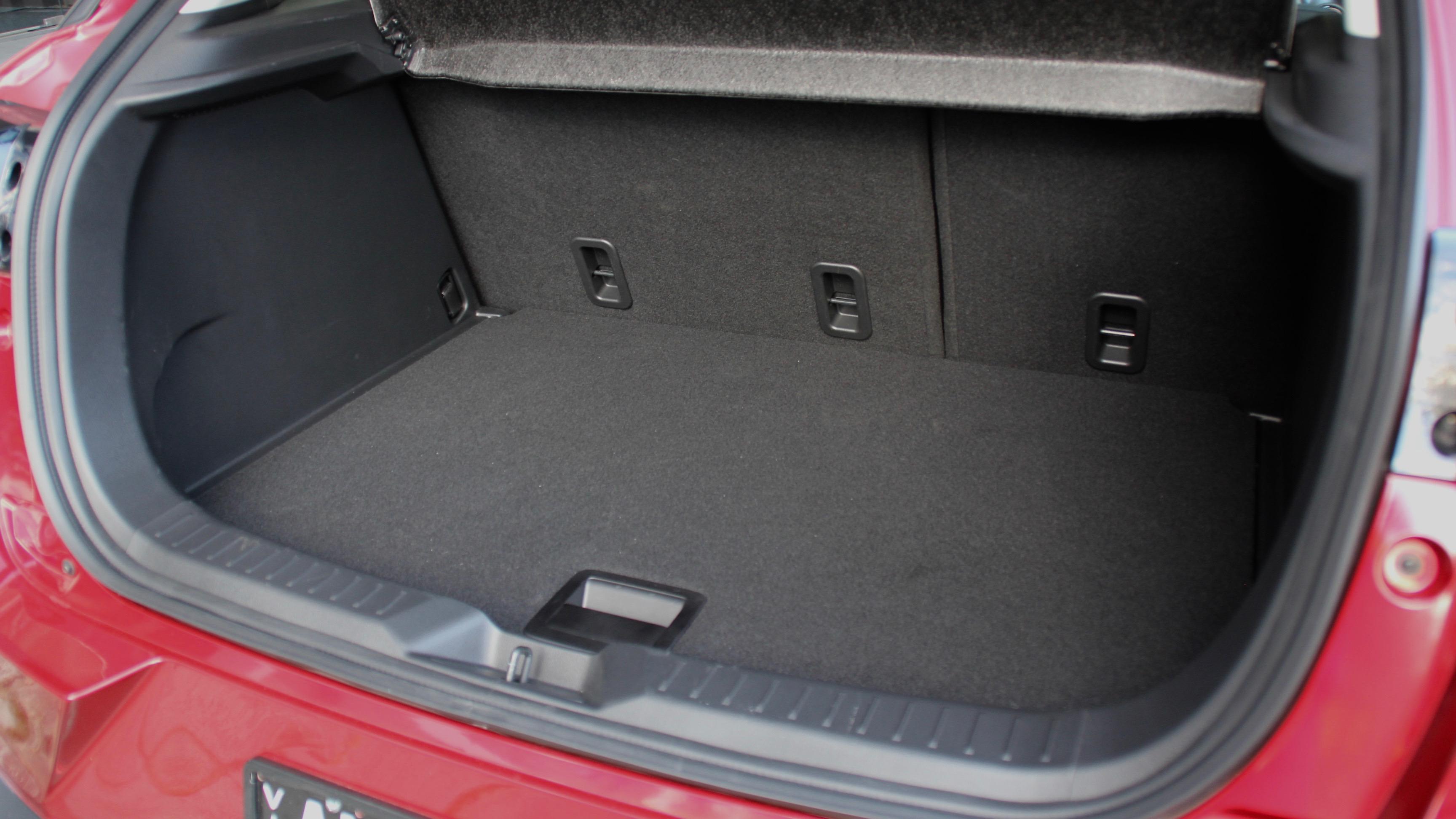 2018 Mazda CX-3 boot