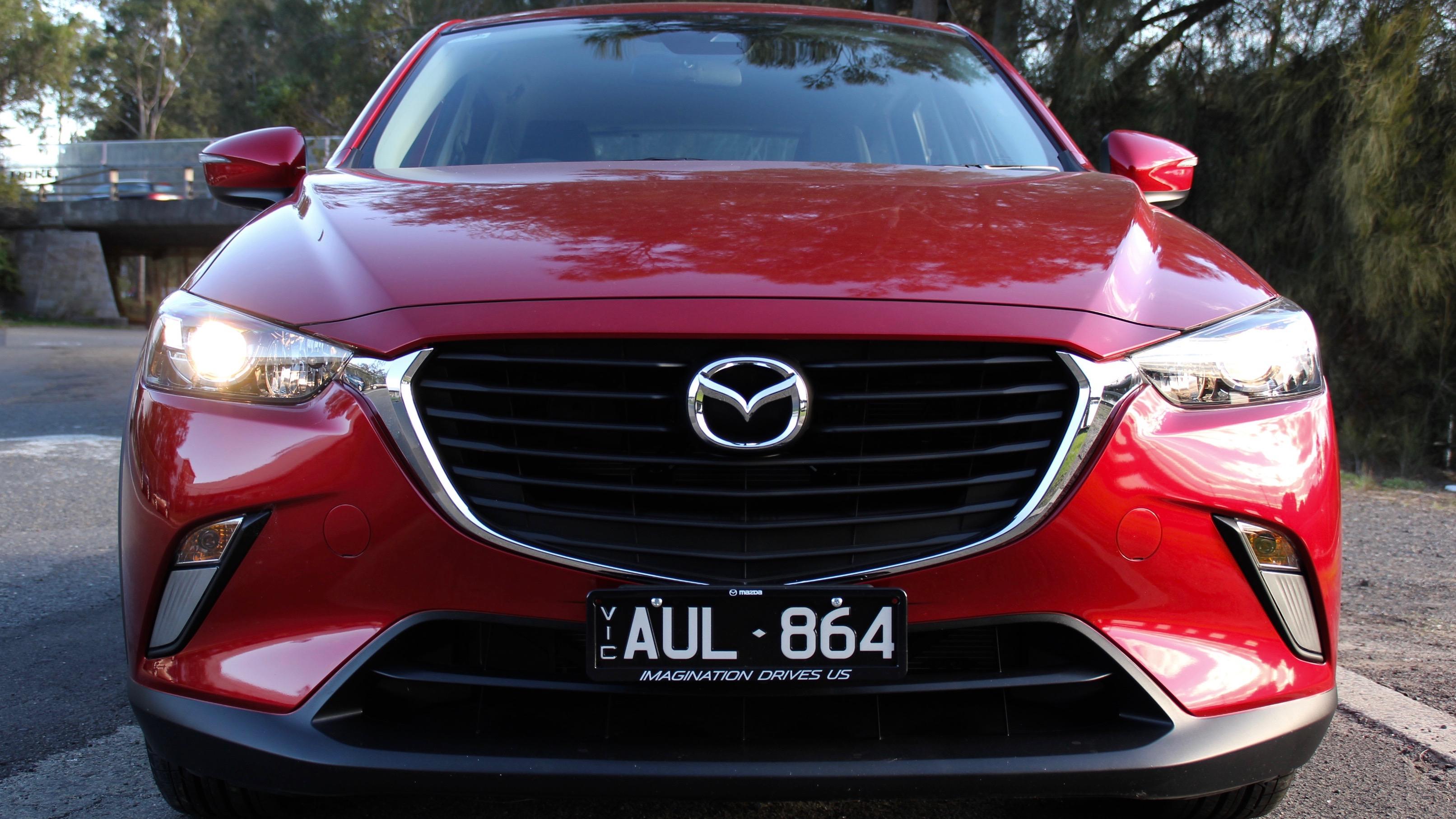 2018 Mazda CX-3 front detail
