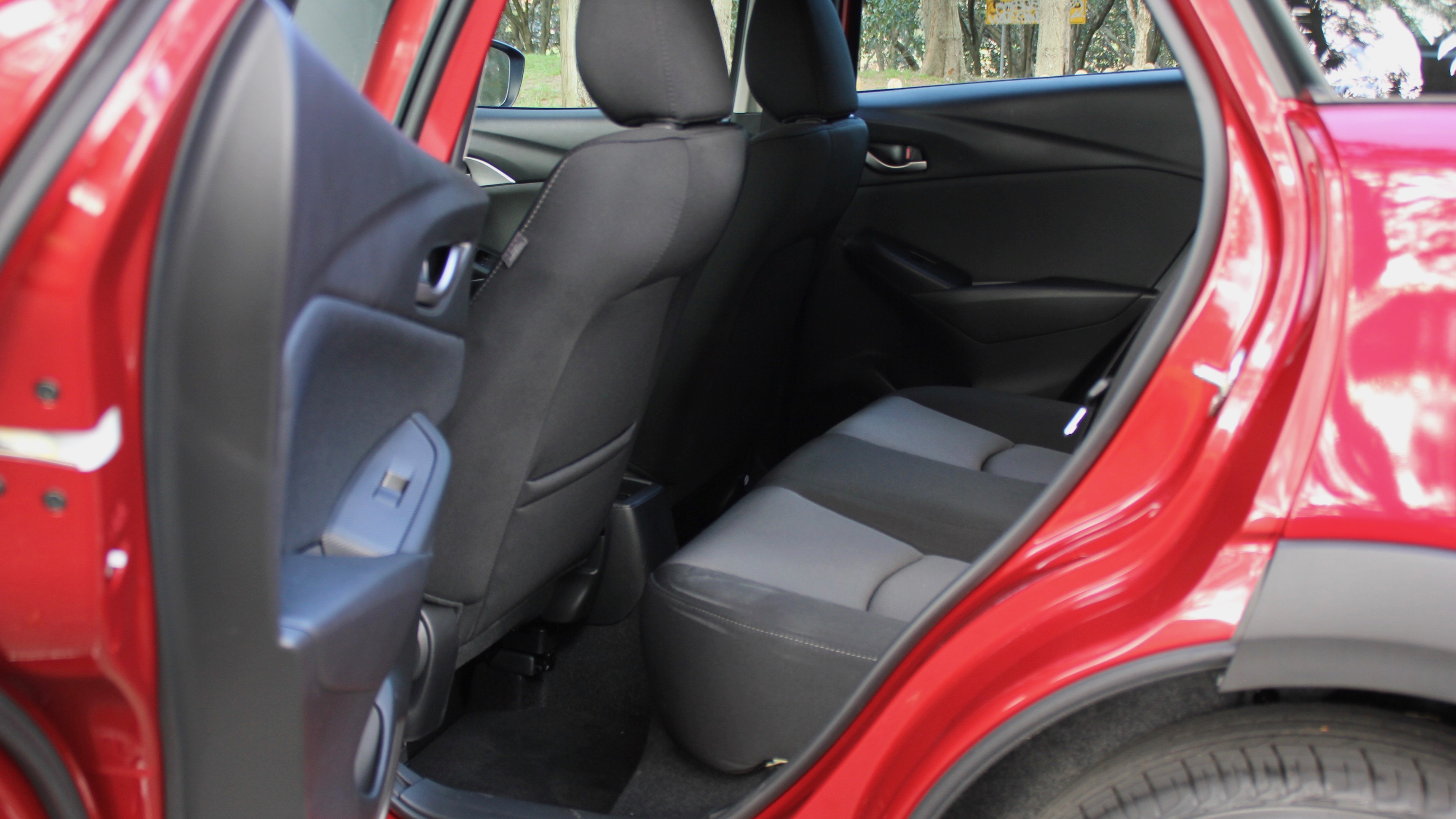 2018 Mazda CX-3 rear seat