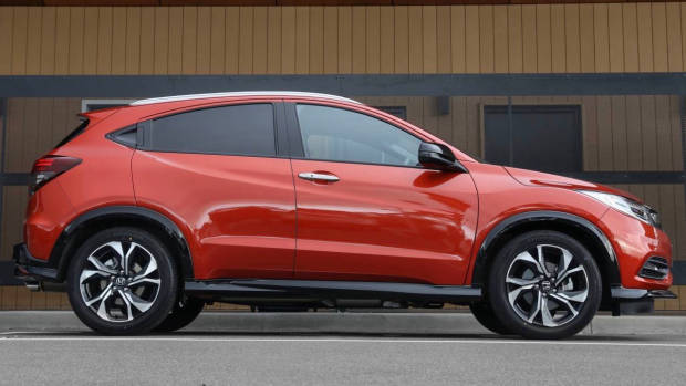 2019 Honda HR-V RS side