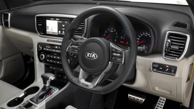 2019 Kia Sportage GT-Line dashboard