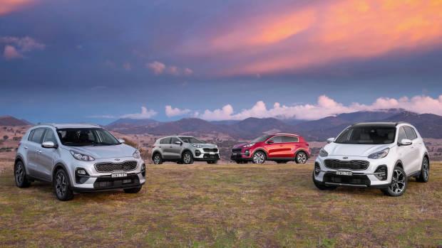 2019 Kia Sportage range