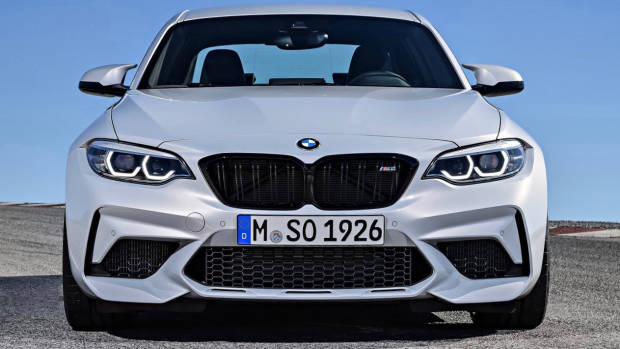2019 BMW M2 Competition Hockenheim Silver front