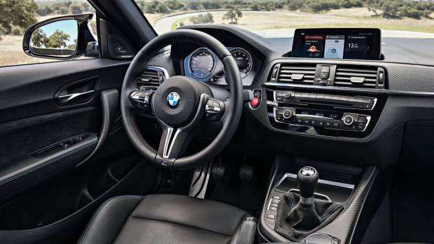 2019 BMW M2 Competition dashboard