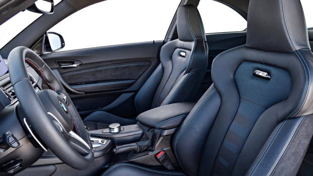 2019 BMW M2 Competition seats