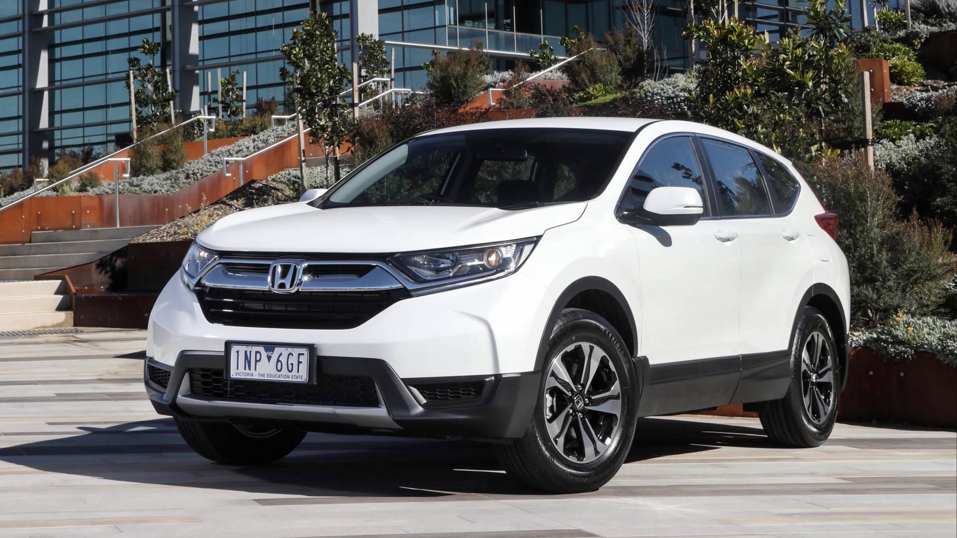 2019 Honda CR-V Vi white front
