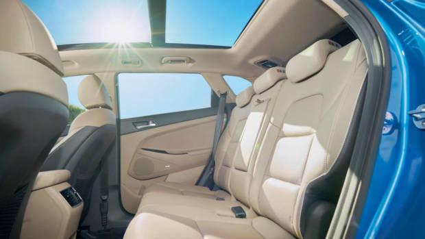 2019 Hyundai Tucson Highlander rear seat