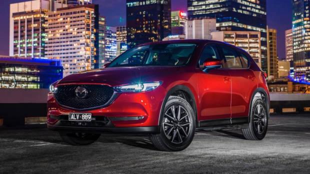 2019 Mazda CX-5 Akera Soul Red Crystal front