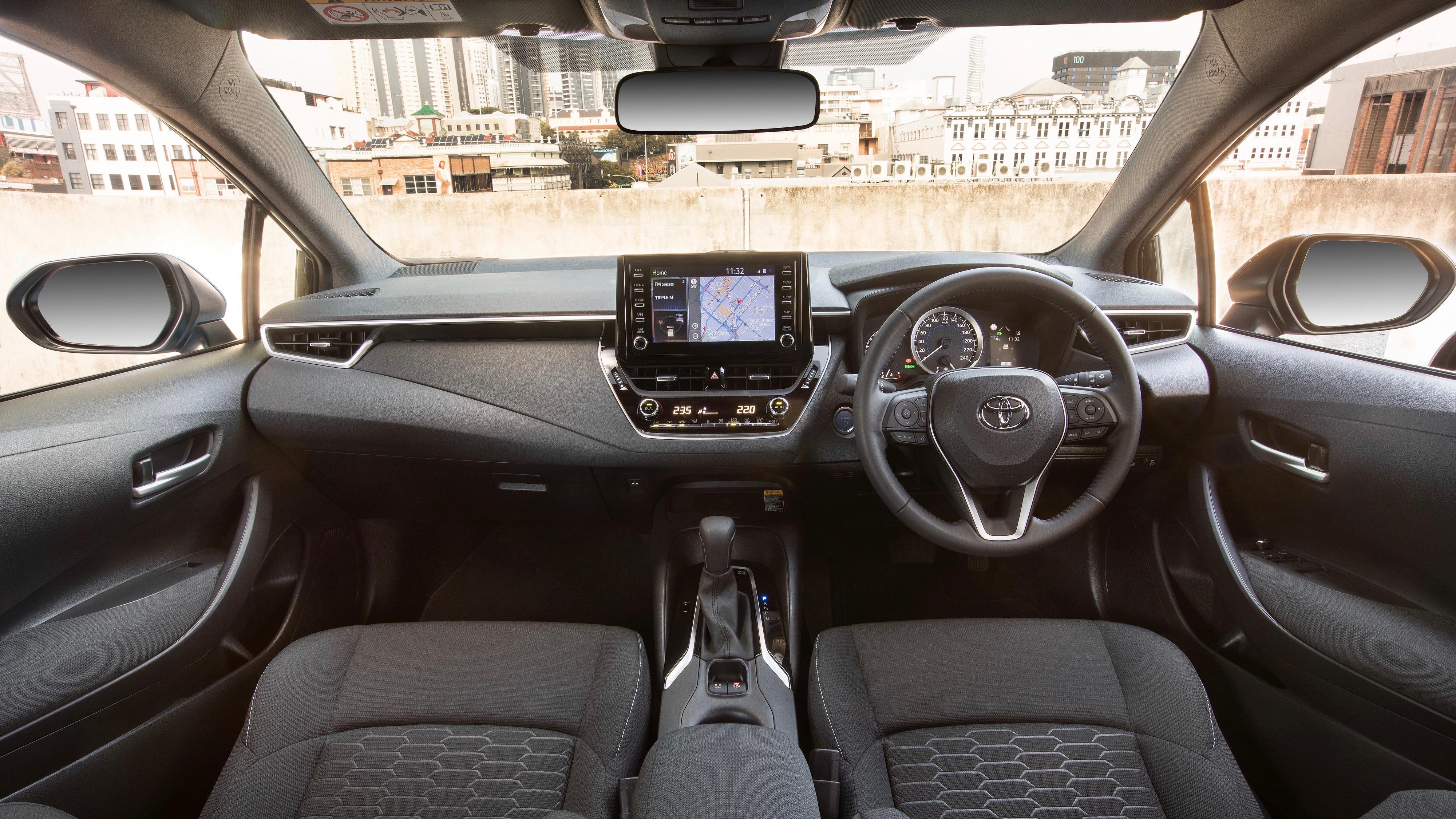 2019 Toyota Corolla SX cabin