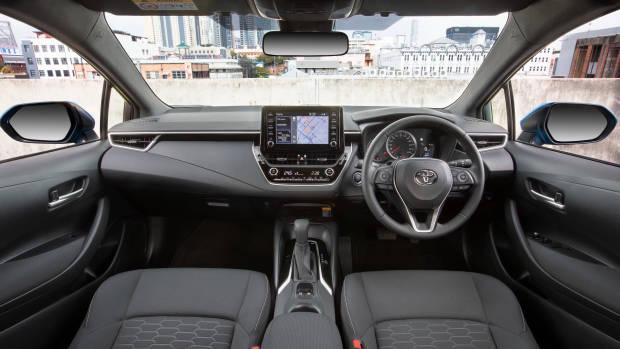 2019 Toyota Corolla SX dashboard