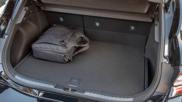 2019 Toyota Corolla boot