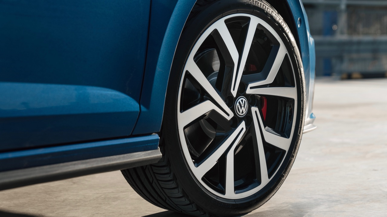 2019 Volkswagen Polo GTI Brescia wheel