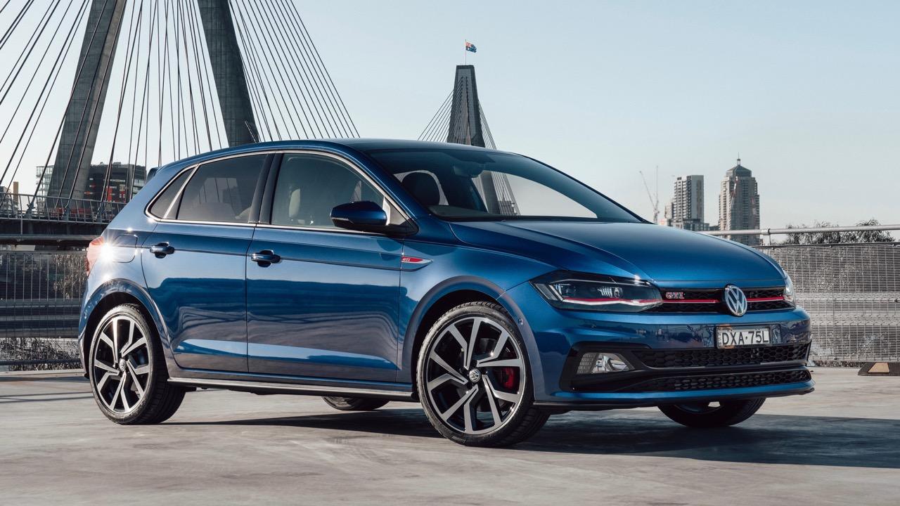 2019 Volkswagen Polo GTI Reef Blue profile