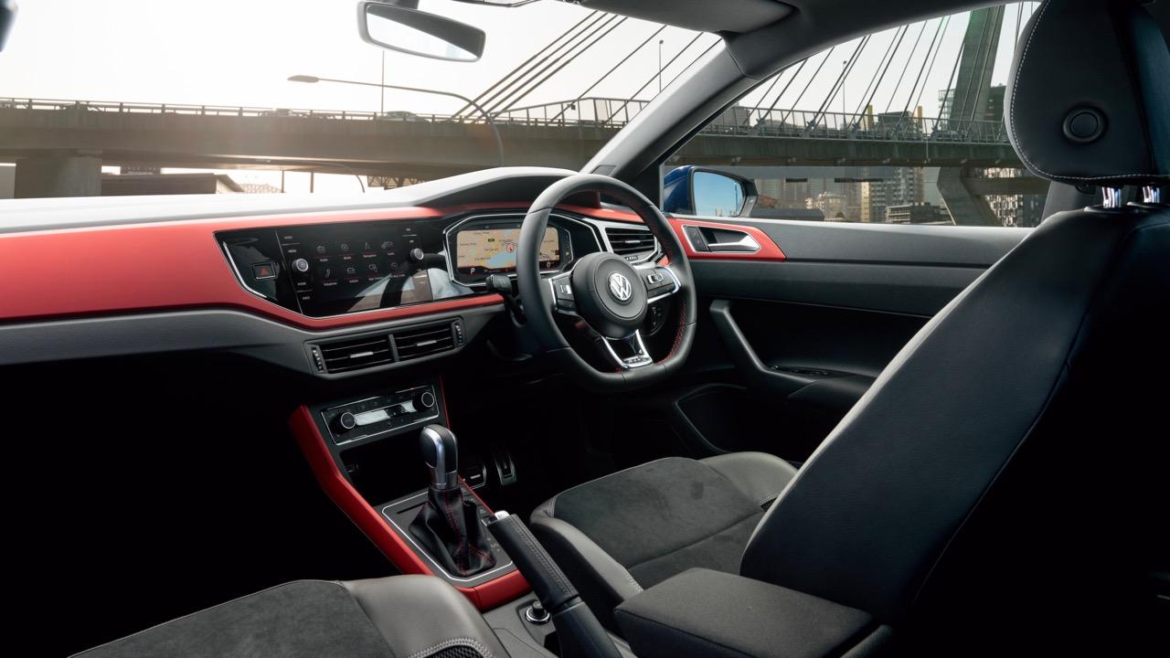 2019 Volkswagen Polo GTI front interior