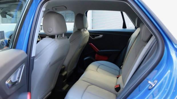 Audi Q2 back seat space