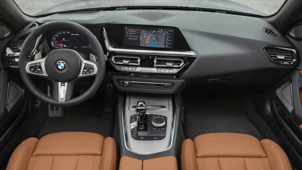 2019 BMW Z4 M40i dashboard