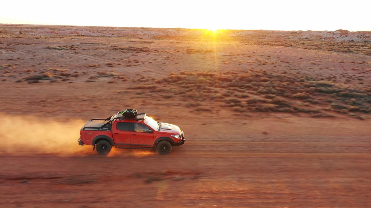 2019 Holden Colorado Xtreme Orange Crush Drone