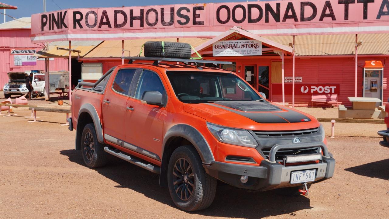 2019 Holden Colorado Xtreme Orange Crush Front End