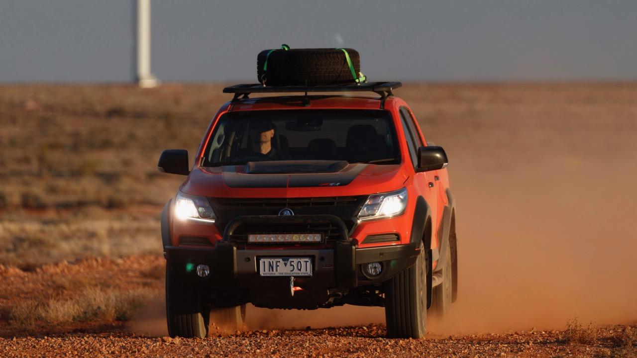 2019 Holden Colorado Xtreme Orange Crush off road
