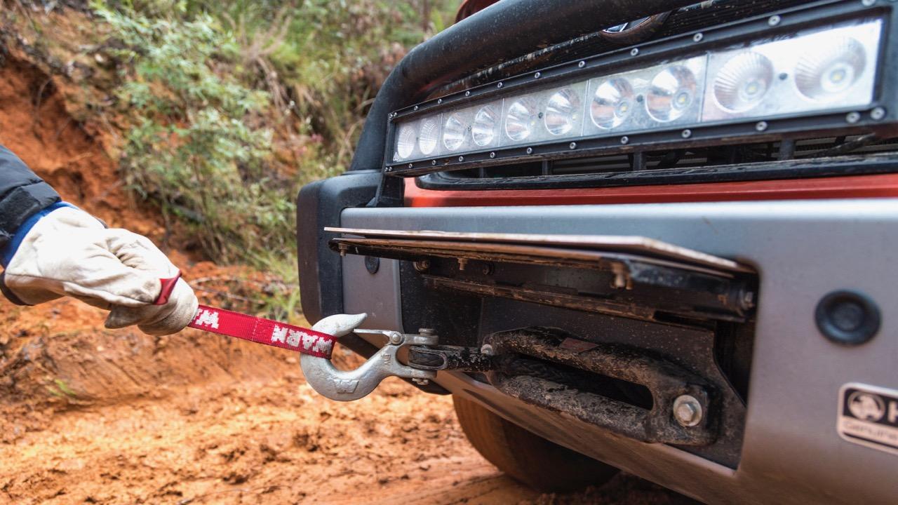 2019 Holden Colorado Xtreme winch