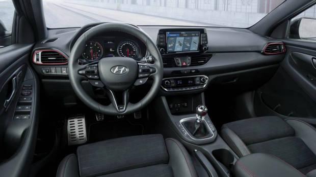 2019 Hyundai i30 N Fastback interior