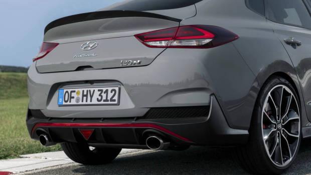 2019 Hyundai i30 N Fastback rear detail