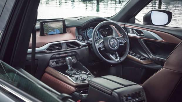 2019 Mazda CX-9 Azami LE Machine Grey dashboard