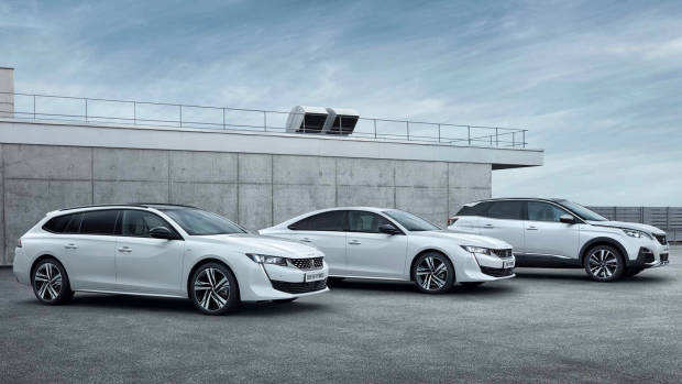 2019 Peugeot 508 Touring + 508 + 3008 Hybrids
