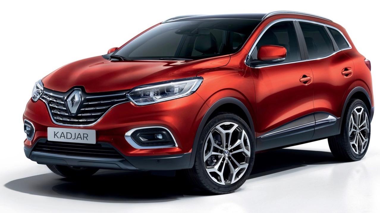 2019 Renault Kadjar red front 3/4