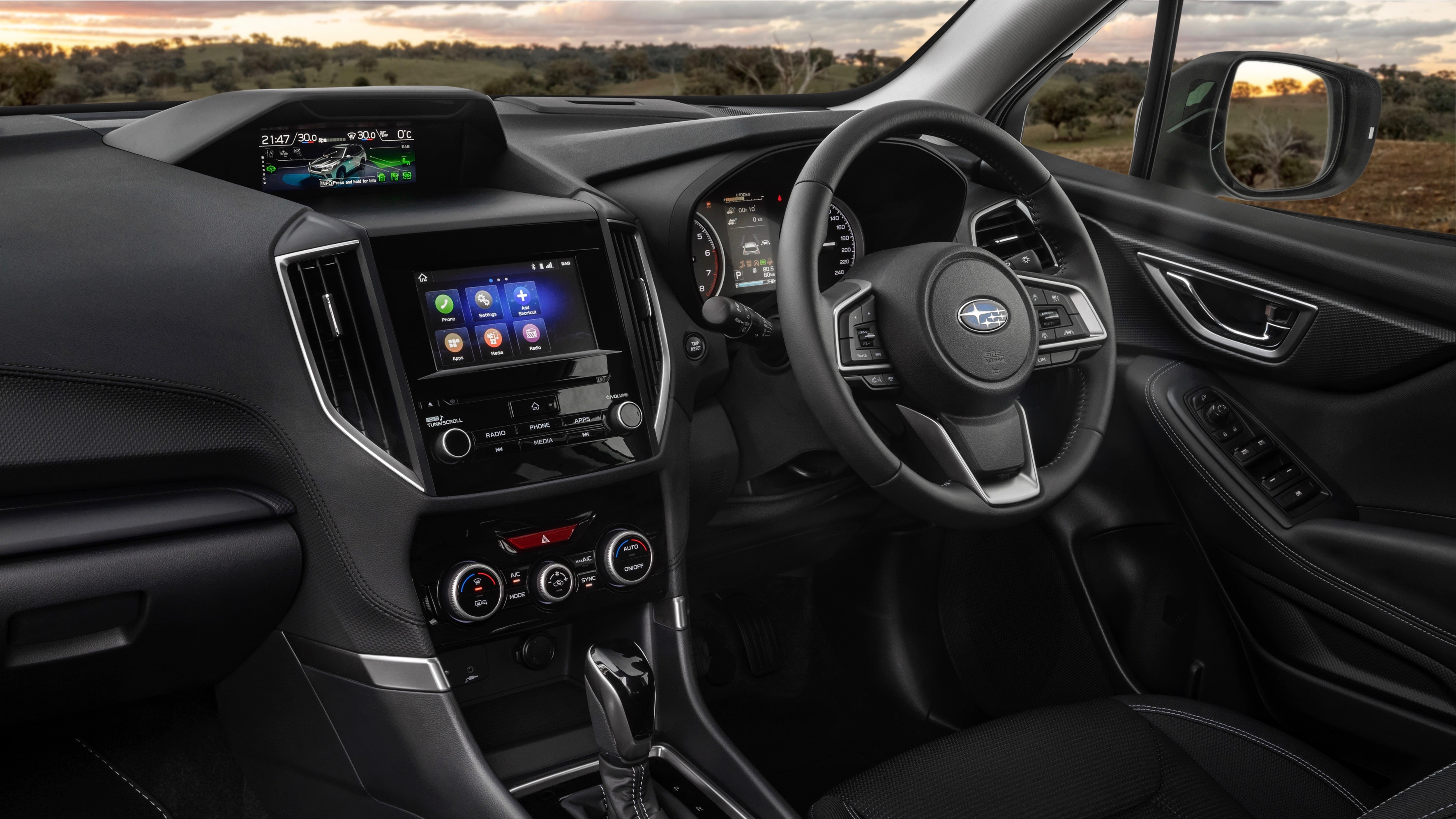2019 Subaru Forester 2.5i-L dashboard