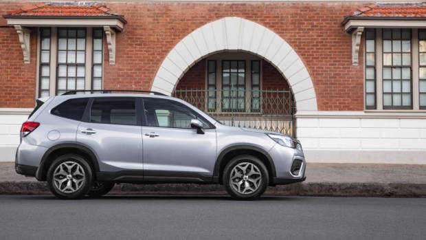 2019 Subaru Forester 2.5i-L silver side