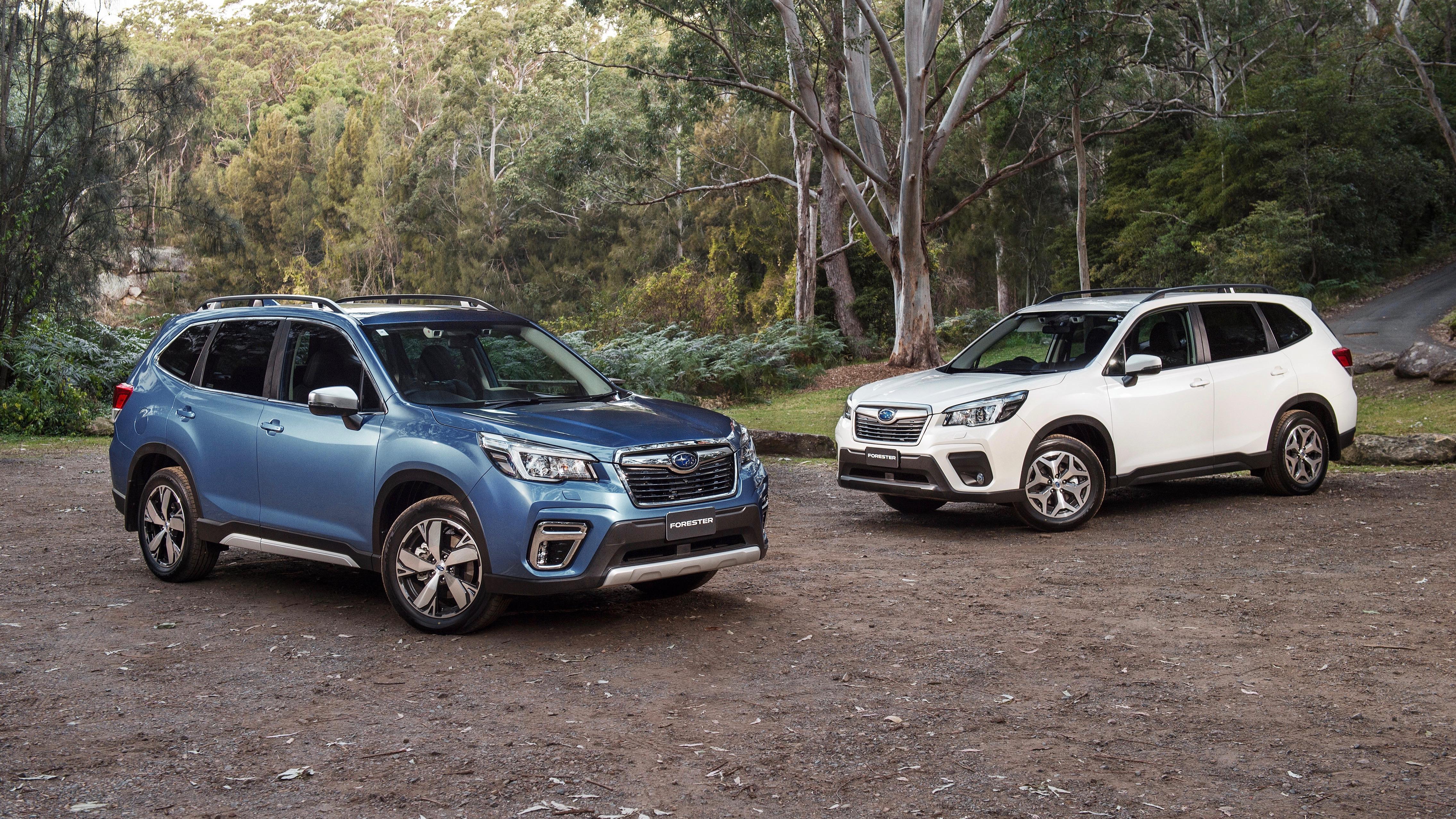 2019 Subaru Forester 2.5i-S + 2.5i-L