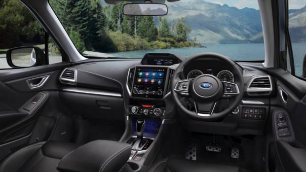 2019 Subaru Forester 2.5i-S dashboard