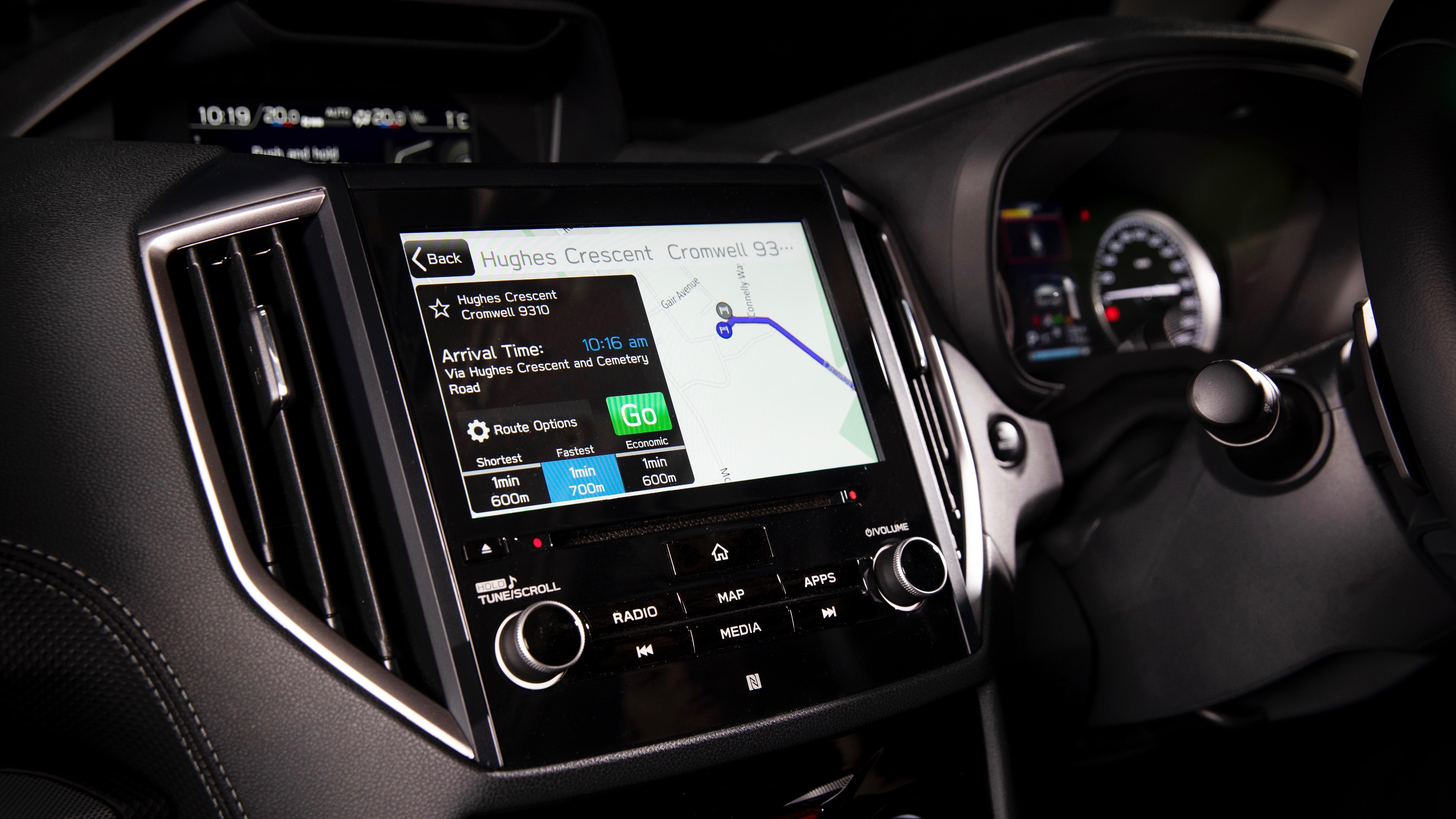 2019 Subaru Forester navigation