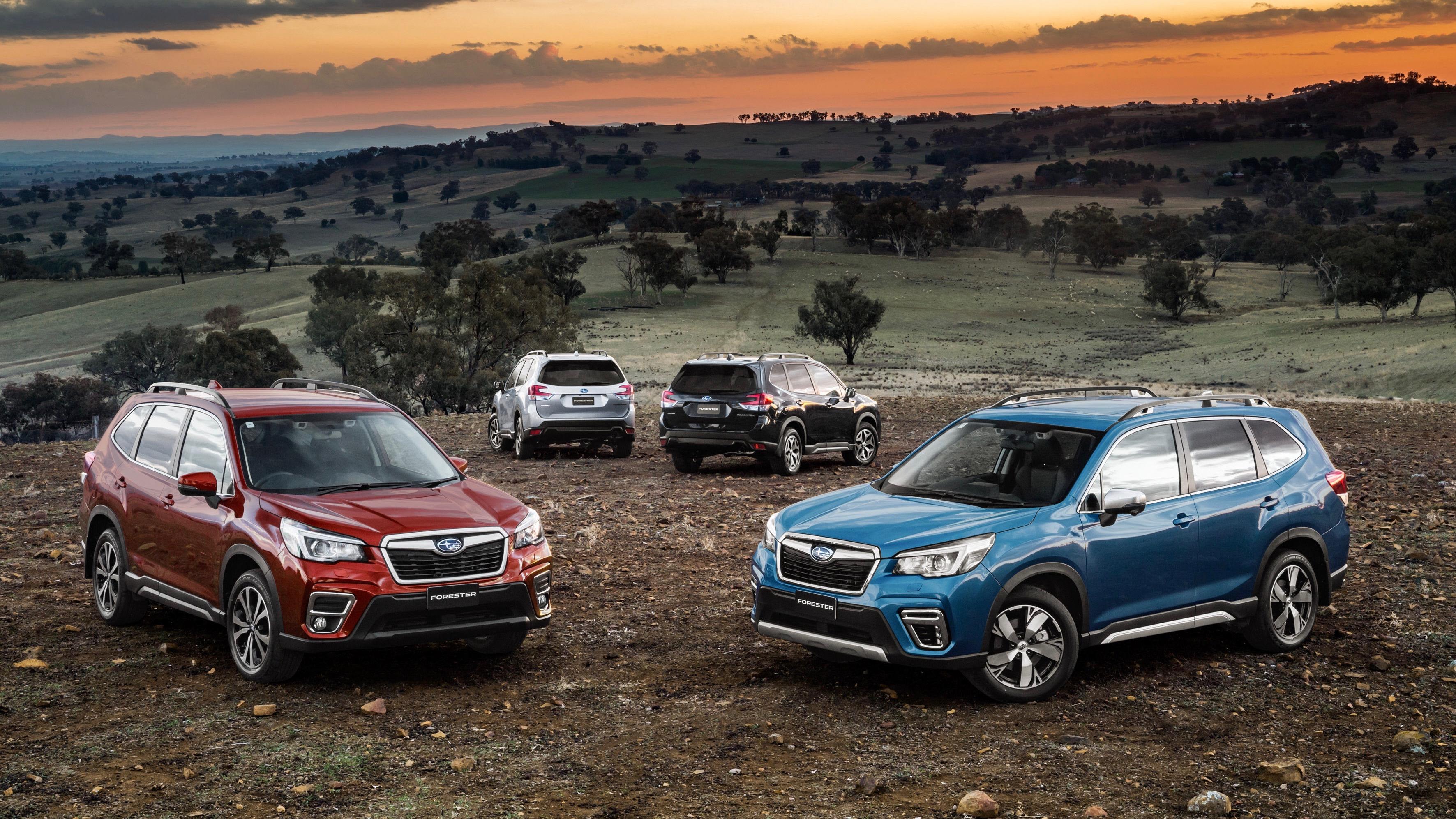 2019 Subaru Forester range