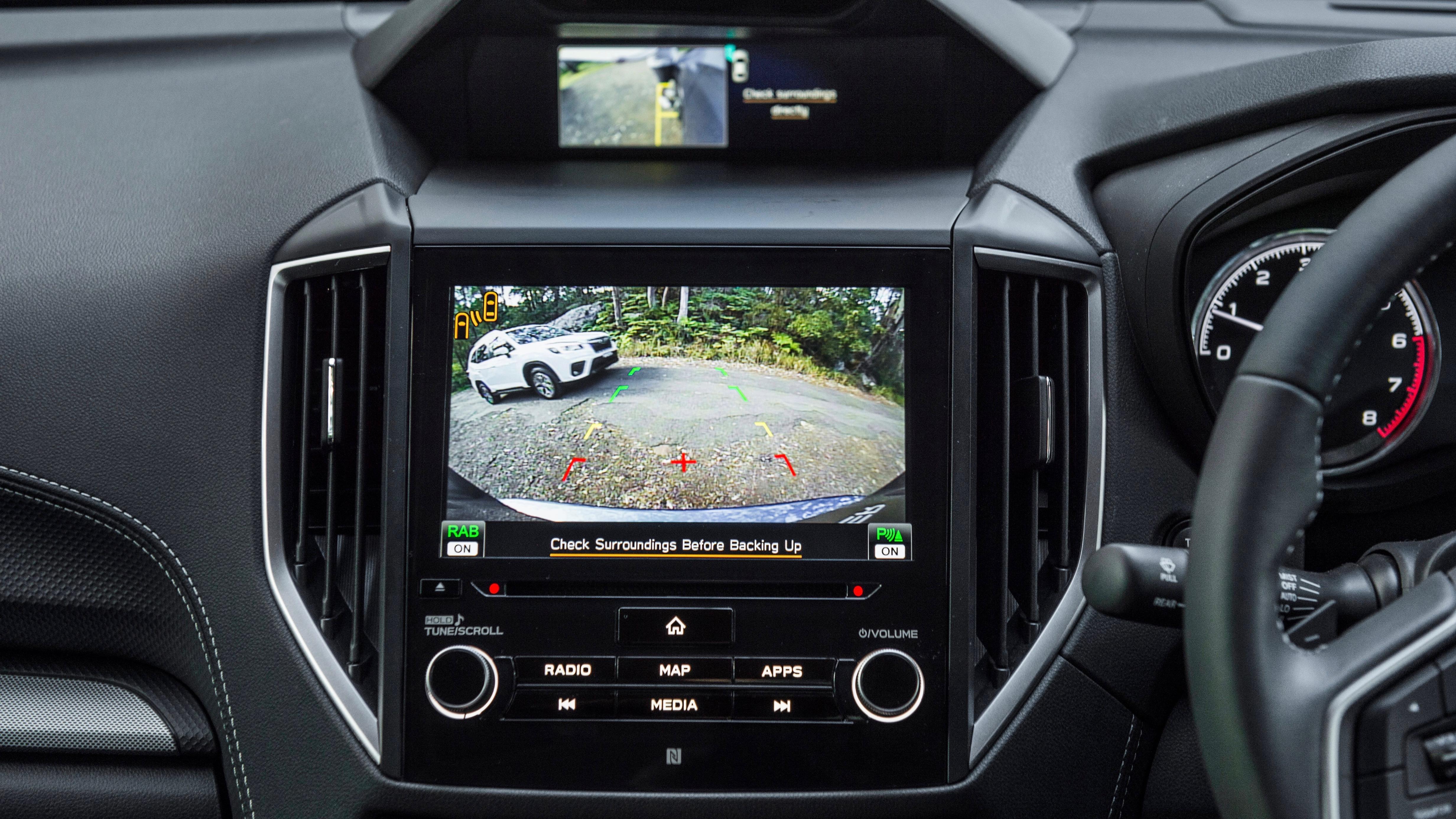 2019 Subaru Forester rear camera