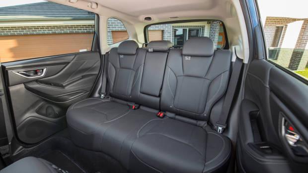 2019 Subaru Forester rear seat