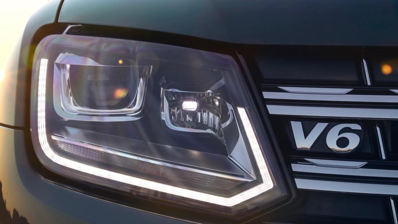 2019 Volkswagen Amarok V6 Front Badge