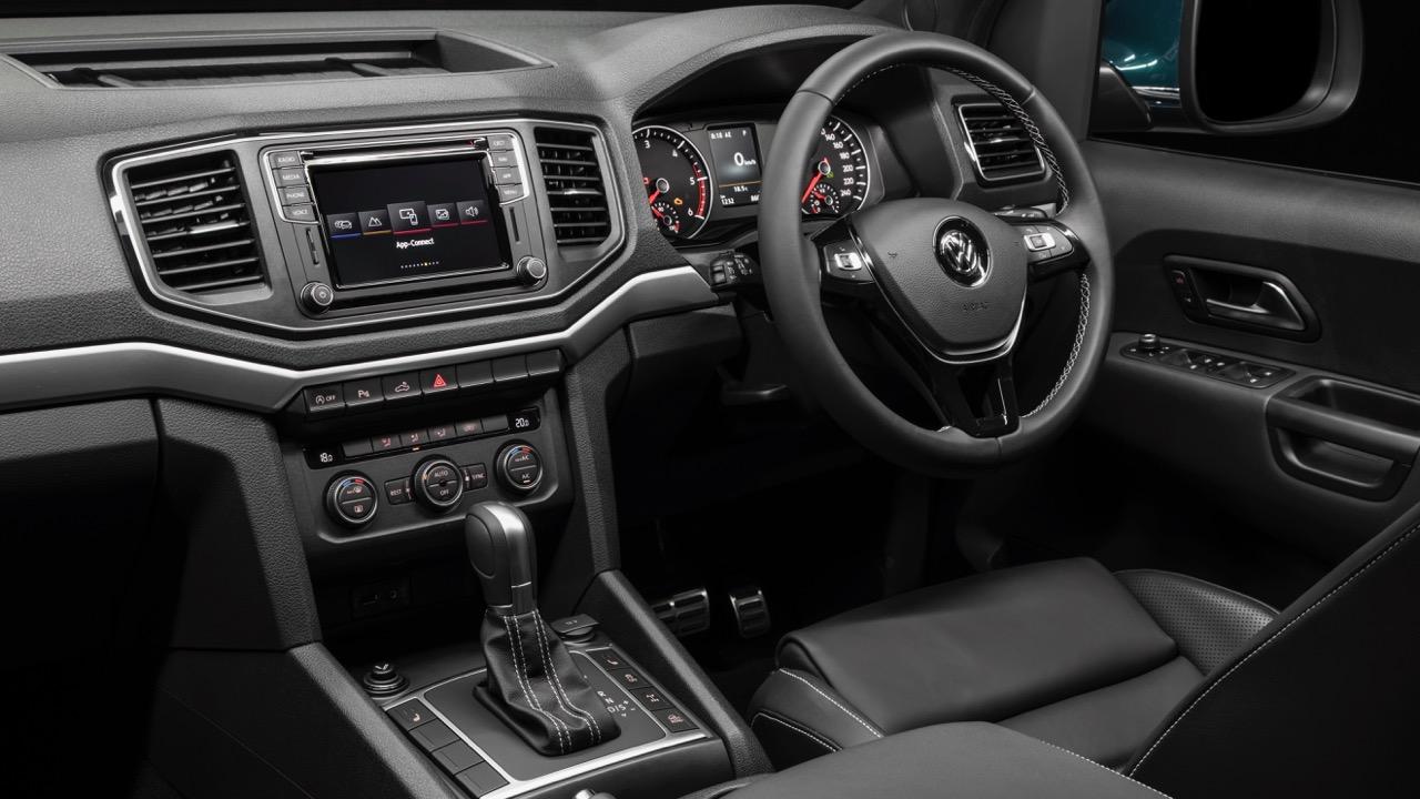 2019 Volkswagen Amarok V6 Ultimate 580TDI Black Nappa Leather